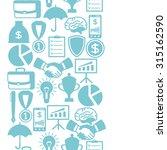business and finance seamless... | Shutterstock .eps vector #315162590