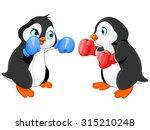 illustration of cute penguin...