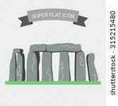 stonehenge icon | Shutterstock .eps vector #315215480