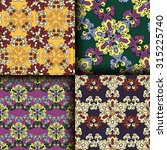 vector seamless pattern set... | Shutterstock .eps vector #315225740