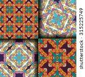 vector seamless pattern set... | Shutterstock .eps vector #315225749