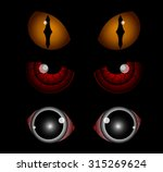 Scary Eyes  Halloween...