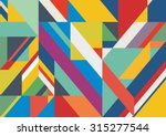 abstract striped color textured ... | Shutterstock .eps vector #315277544