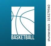 basketball print design with...   Shutterstock .eps vector #315279560