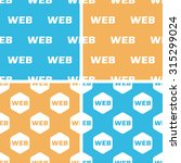 web pattern set  simple and...