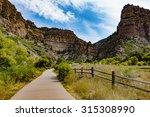glenwood canyon recreation... | Shutterstock . vector #315308990