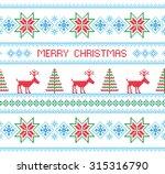 merry christmas. christmas... | Shutterstock .eps vector #315316790