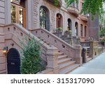Brownstone Apartment Building...