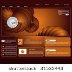 vector web template | Shutterstock .eps vector #31532443