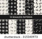 doodle gardening icon   Shutterstock .eps vector #315340973