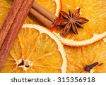 Dry Slices Of Orange  Cinnamon...