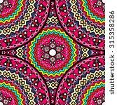 ethnic geometric print.... | Shutterstock .eps vector #315358286