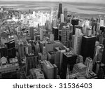 chicago a view from above | Shutterstock . vector #31536403