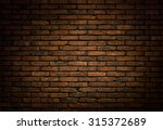 Dark Brick Wall Background ...