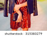 close up fashion portrait of... | Shutterstock . vector #315383279