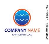creative company logo   design... | Shutterstock .eps vector #315383759