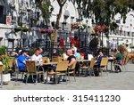 gibraltar  uk   april 20  2009  ... | Shutterstock . vector #315411230