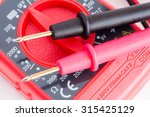 closeup of digital multimeter ... | Shutterstock . vector #315425129