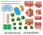 landscape  garden and... | Shutterstock . vector #315445049