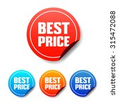 best price round stickers | Shutterstock .eps vector #315472088