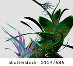 abstract flower | Shutterstock . vector #31547686