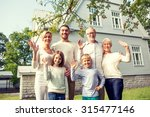 family  generation  gesture ... | Shutterstock . vector #315477146
