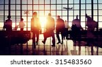 international airport terminal... | Shutterstock . vector #315483560