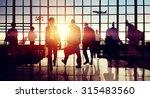 international airport terminal... | Shutterstock . vector #315483560