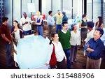 business people team teamwork... | Shutterstock . vector #315488906