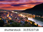 heidelberg  germany  aerial... | Shutterstock . vector #315523718