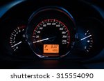 close up of car dashboard and... | Shutterstock . vector #315554090