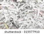 a bed of shredded paper. | Shutterstock . vector #315577910
