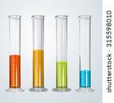 chemistry apparatus   graduated ...   Shutterstock .eps vector #315598010