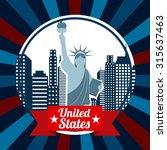 united states emblem design ... | Shutterstock .eps vector #315637463