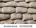sandbags | Shutterstock . vector #315696338