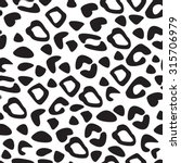 leopard seamless pattern.... | Shutterstock .eps vector #315706979