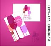 wine   logo. template concept...   Shutterstock .eps vector #315741854