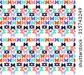 vector  decorative pattern of... | Shutterstock .eps vector #315743249