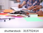 close up of three young... | Shutterstock . vector #315752414