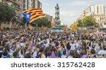 barcelona  spain   sept.... | Shutterstock . vector #315762428