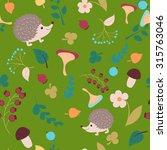 vector forest design  floral... | Shutterstock .eps vector #315763046