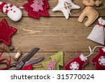 christmas toys with their own... | Shutterstock . vector #315770024