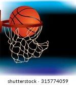basketball background   Shutterstock .eps vector #315774059