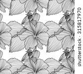 elegant seamless pattern with... | Shutterstock .eps vector #315817970
