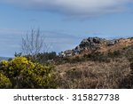 Постер, плакат: Rocky outcrop in the