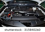 view of automobile  car  engine | Shutterstock . vector #315840260