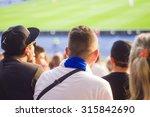 spectators sit in the stadium   Shutterstock . vector #315842690