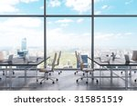 workplaces in a modern... | Shutterstock . vector #315851519