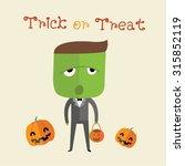 happy halloween | Shutterstock .eps vector #315852119