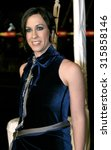 Small photo of HOLLYWOOD, CA - DECEMBER 07, 2004: Alanis Morissette at the Los Angeles premiere of 'Blade: Trinity' held at the Grauman's Chinese Theater in Hollywood, USA on December 7, 2004.